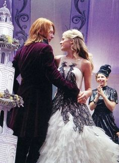 Fleur's Wedding Gown- Harry Potter and The Deathly Hallows-Part 1