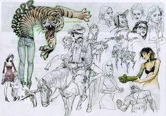 Kim Jung Gi - Doodles