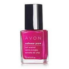 Nailwear Pro+ Nail Enamel - Electric Shades. Nailwear Pro+ Nail Enamel is your pretty little secret to this season's hottest nails. 12 days of lasting color. Increases nail strength by 80%. High-shine finish resists dings, bangs and nicks. No formaldehyde, toluene or phthalates. .4 fl. oz. Reg. $6.