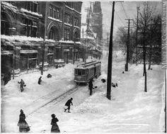 Montréal, je me souviens !: Rue Sainte-Catherine