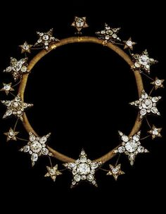 Colar das Estrelas; The Necklace of the Stars,  is a diamond necklace originally made for Queen Consort Maria Pia of Savoy. It is a piece of the Portuguese Crown Jewels, made in 1865 for the wife of King Luís I of Portugal, Queen Cosort Maria Pia of Savoy.