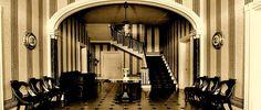 Carnton Plantation Images - Mansion front hall. Photo by Brian Meneguzzi.