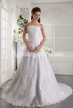 Breathtaking A Line Floor Length Lace Wedding Dress Button Back