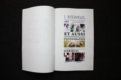 3petitspoints Magazine by Isabelle Laydier, via Behance