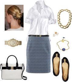 """New Skirt Look 1"" by bluehydrangea ❤ liked on Polyvore"