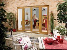 NUVU Oak French Doors with Modular Side lights from Cost Of French Doors, French Doors Patio, Hinged Patio Doors, Sliding Patio Doors, Exterior Doors, Interior And Exterior, External French Doors, Vinyl Fence Panels, Oak Doors