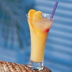 Planter's punch is a traditional Caribbean cocktail. The basic recipe calls for equal parts orange and pineapple juice, guava nectar, and rum.  For the best results, use fresh orange and lime juice.
