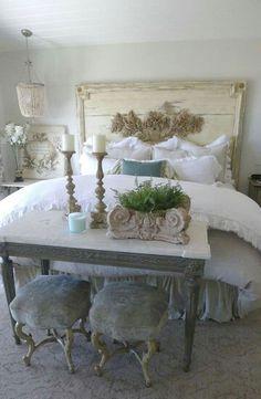 Romantic Shabby Chic Bedroom Decorating Ideas (1)
