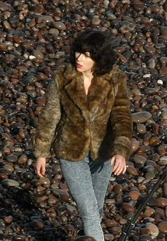 "scarlett johansson under the skin movie photos | Scarlett Johansson filming ""Under the Skin"""