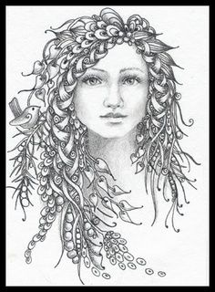 Zentangle Girl | Fairy Tangles: December 2011