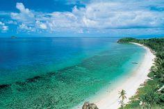 Mana Island. Get there with South Sea Cruises! #beauty #beach #fiji #travel #tropical #islandvisit