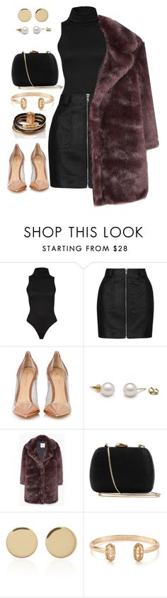 """""""Untitled #16"""" by bessyv on Polyvore featuring Topshop, Gianvito Rossi, MANGO, Serpui, Magdalena Frackowiak, Kendra Scott and L.K.Bennett"""