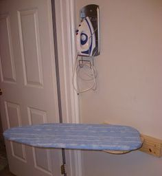 My little guy decided to do a little slice and dice on his finger during his battle with the wall mounted ironing board so I am taking some PTO. Sorry no Feature Friday today. But, as a consolation prize I will show you the ingenious ironing board that my hubs built for me one Christmas. …