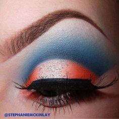 Blue w orange eye color @stephaniemckinlay