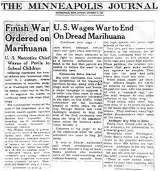 Cannabis was federally outlawed 80 years ago, and two Denver men happened to be the first Drug War victims. Here are their stories.