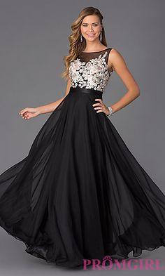 Floor Length Sleeveless Dress by Mori Lee at PromGirl.com