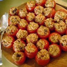 Turkse gevulde tomaten @ allrecipes.nl