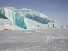 Frozen Wave on Lake Huron USA