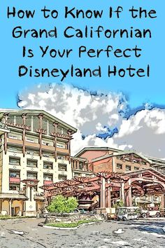 Find out if Disney's Grand Californian Hotel is a good place for you to stay near Disneyland - get the lowest price, check location and what it has to offer Best Disneyland Hotels, Disneyland California, Disneyland Trip, California Travel, Disney Grand Californian Hotel, Anaheim Hotels, Travel Expert, Great Hotel, Disney World Tips And Tricks