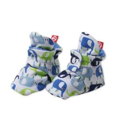 http://www.kidstoysonlineshopping.com/category/zutano-booties/ Enzo's Elephants Bootie