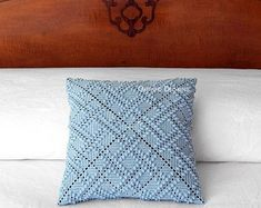 Items similar to Tufted 'Monstera' Hawaiian Quilt Pattern Crochet Square Pillow - MADE TO ORDER - Double Sided design, custom colors on Etsy Hawaiian Quilt Patterns, Hawaiian Quilts, Fabric Covered Button, Covered Buttons, Owning A Cat, Fabric Combinations, Cat Dog, Crochet Squares, Cotton Fabric