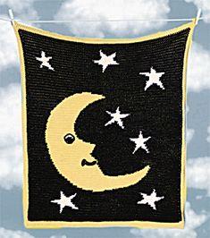 Image of Crochet Night Sky Afghan