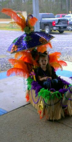 Mardi Gras Float from Red Wagon