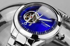 Aragon Antigravity open-heart automatic via Aragon, Rolex Watches, Heart, Accessories