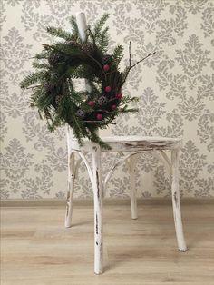 Christmas wreath Christmas decoration  Home decoration Christmas New year  Hand made Новогодний венок Новогодний декор Рождество Новый год  Ручная работа