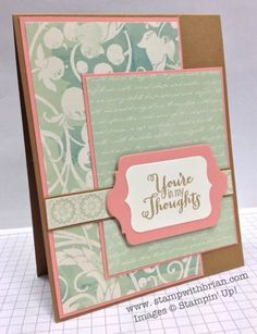 2013-14 In Colors  Best of Greetings, Venetian Romance, Stampin' Up!, Brian King