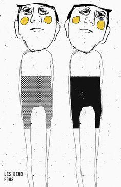 les deux fous | by les brumes / tête de caboche