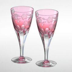 Sakura wine glass