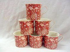 Heron Cross Pottery 6 Porzellan-Tassen in William Morris-... http://www.amazon.de/dp/B00NC4MJS2/ref=cm_sw_r_pi_dp_dgwpxb1ZZ5NZY