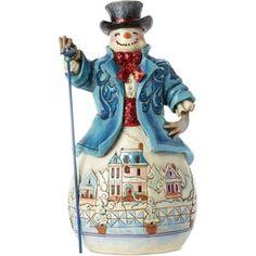 Jim Shore Winter Wonderland Snowman Collectible Figurine