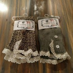 NWT 2-pk LEG WARMERS These are brand new!  $20 for one pair, $30 for both pairs!  This listing is for both.  Let me know if only one pair is wanted and I'll make a separate listing :)  Might be willing to trade! Accessories Hosiery & Socks