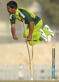 Brief story of Pakistan Disabled #Cricket Association in which exciting Cricketer Farhan Saeed expressed his views