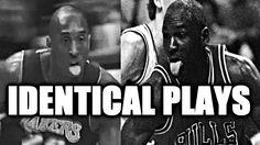 Kobe Bryant vs. Michael Jordan - Identical Plays: The Last Dance
