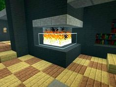 """to Make Furniture for Your """"Minecraft"""" House: A Tutorial How to make furniture and appliances in Minecraft.How to make furniture and appliances in Minecraft. Minecraft Villa, Modern Minecraft Houses, Minecraft Mansion, Minecraft Room, Minecraft House Designs, Minecraft Architecture, Minecraft Blueprints, Minecraft Furniture, Architecture Design"""