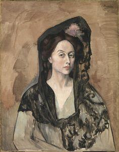 Pablo Picasso. La señora Canals [Benedetta Bianco]. París, [otoño del] 1905.