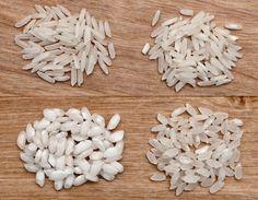 Conozca los distintos tipos de arroz