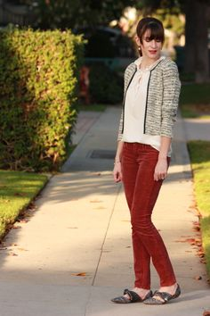 Jeans and a Teacup - texture for fall. Colors, textures... love all of this.