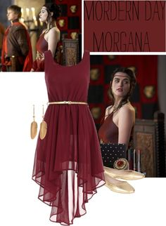 """""""Modern Day Morgana"""" by auzziea ❤ liked on Polyvore"""