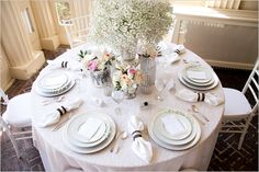 Vintage wedding table inspiration