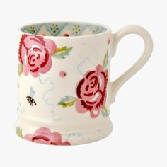 Rose & Bee 1/2 Pint Mug