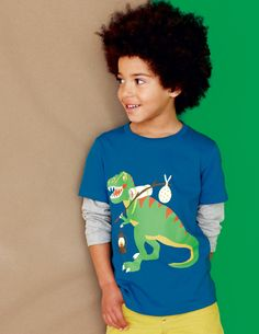Animal Adventure T-shirt 21571 Tops & T-shirts at Boden