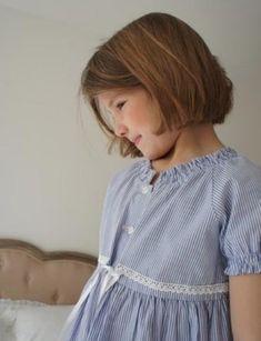 bata y camison clásico para niñas