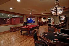 Crear una Sala de Juego con un toque a Casino Clásico