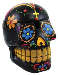 Day of The Dead Skull Boxes from Cobaltraven's Magickal Notions