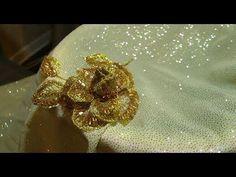 ВЫШИВКА: БРОШЬ\ Hand Embroidery: BROOCH - YouTube