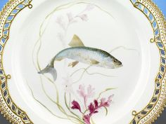 flora danica china | Flora Danica fish plate